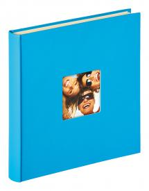 Walther Fun Self-adhesive Sea blue - 33x34 cm (50 White pages / 25 sheets)