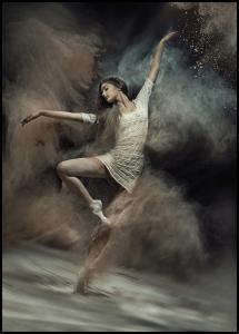 Bildverkstad Dusty Dancer Poster