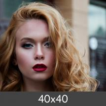 Egen tillverkning - Kundbild Enlargement Standard - Photo Luster 260 g