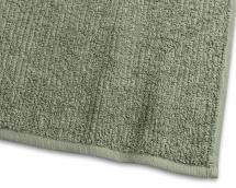 Borganäs of Sweden Guest Towel Stripe Terrycloth - Green 30x50 cm