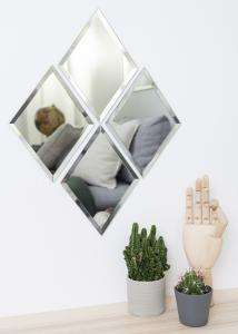 Society of Lifestyle Mirror House Doctor Diamond Clear 16x22 cm