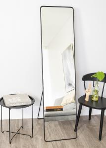 House Doctor Standing mirror House Doctor Chic Black 45x175 cm