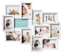 Walther Timeless Collage frame White - 12 Pictures