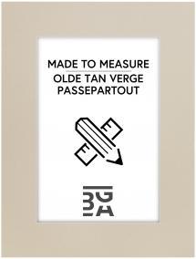 Egen tillverkning - Passepartouter Mount Olde Tan Verge - Custom Size