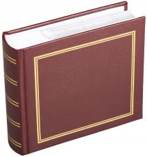 Estancia Diamond Photo album Maroon - 100 Pictures in 11x15 cm