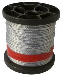 Plasticised Steel rope 50mm