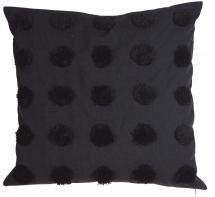 Fondaco Dot Pillow case Black 50x50 cm