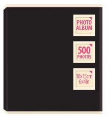 """Innova Collection Black - 500 Pictures in 10x15 cm (4x6"""")"""