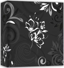 ZEP Umbria Black - 31x32 cm (50 White pages / 25 sheets)