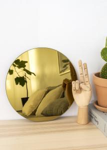 KAILA KAILA Round Mirror Gold 30 cm Ø