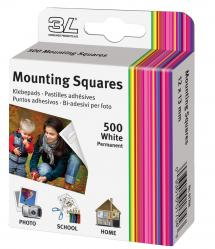 3L Mounting Squares 500 pieces