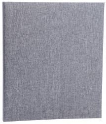 Focus Base Line Canvas Ring folder - Grey